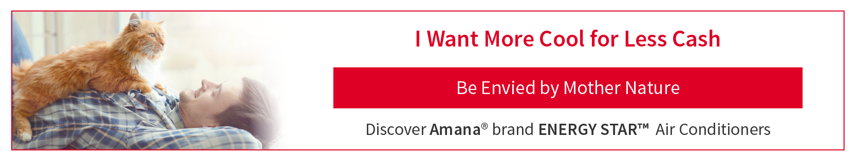Amana brand Air Conditioners