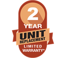 Amana 2 yr unit replacement badge