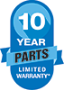 Amana's 10 Years Parts Limited Warranty