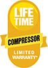 Amana Lifetime Compressor Limited Warranty