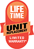 Amana's Lifetime Unit Replacement Limited Warranty