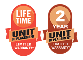 Amana Lifetime Unit Replacement 2 yr warranty