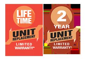 Amana Lifetime Unit Replacement 2 yr warranty