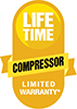 Amana's Lifetime Compressor Limited Warranty